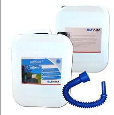 Adblue® SCR Harnstofflösung  Ad Blue 2 x 10L mit Ausgießer für alle Automarken