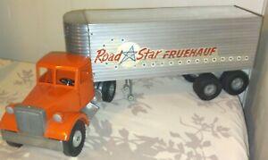 Vintage 1950's Smith Miller MIC MACK  ROAD STAR Fruehauf Tractor Trailer