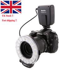 UK Meike FC-110 LED Macro Ring Flash Light for Canon 70D 80D Nikon D750 Cameras