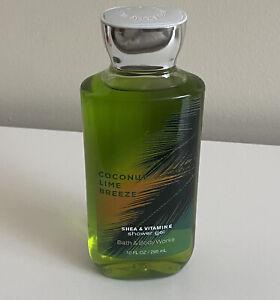 Bath & Body Works Coconut Lime Breeze Shower Gel 10 Fl Oz New