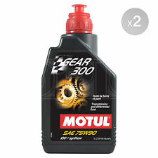 Motul Gear 300 75w-90 75w90 Racing gearbox and diff oil ester synthetic 2 Litres