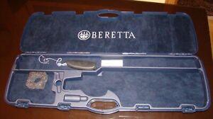 Original Beretta Hard Case for Shotgun plus a Recoil Pad