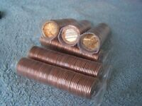 X OBW Penny/'s 1976 **Original Bank Wrapped ** Uncirculated Lincoln Cent Roll