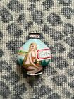 Vintage Antique Chinese Snuff Bottle Reverse Inside Painted Glass Nude Lady Art