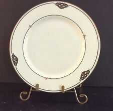 Gotham China Pattern Florentine Onyx 2 Dinner Plates NEW WITH STICKERS CLEARANCE