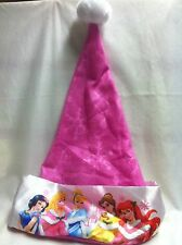 Disney Princess Pink Santa Hat