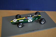Spark 1/18 Lotus 33 Winner British Gp 1965 #5 W/Driver Jim Clark New!