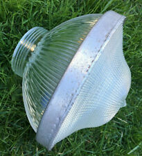 """Holophane Glass Globe for Outdoor Lamp 9.5 """" wide x 8"""" tall"""
