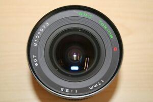 Tokina 17mm lens