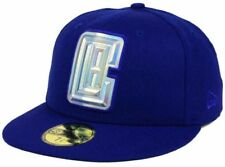 e003dd4e105 Los Angeles Clippers New Era Iridescent 59Fifty Fitted Hat Cap (Size 7 1 8