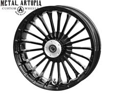 18x5.5 TURBINE 180 FAT TIRE FRONT WHEEL for HARLEY DAVIDSON TOURING
