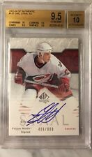 2003-2004 UD SP Authentic Eric Staal RC FUTURE WATCH AUTO #406/900 BGS 9.5 & 10