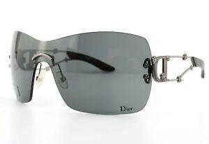 Christian Dior Sunglasses Sweatest Dior PZL95 115 Lady Flower Shades Gunmetal