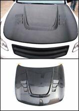 Carbon Bonnet Fit For 07-15 Infiniti V36 G25 G35 G37 Q40 Sedan ATK-X Hood