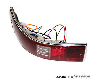 Complete Taillight Assembly, Left, Porsche 911/912 (65-68), 901.631.403.01