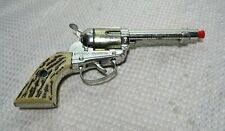 VINTAGE 1950'S MATTEL FANNER SHOOTIN SHELL CAP GUN ROTATING CYLINDER WORKS GREAT