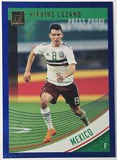 2018-19 Donruss Soccer Blue Press Proof HIRVING LOZANO #149 Mexico World Cup 4/5