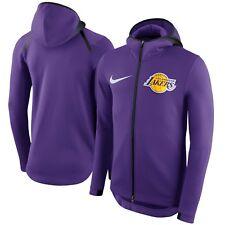 Nike Los Angeles Lakers NBA 2017 THERMA Flex Showtime Hoodie Mens -2XL