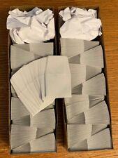 1000 gray 2x2 coin envelopes, heavy duty paper