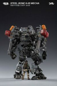 1:18 JOYTOY JT0418 STEEL BONE H-05 Heavy Firepower MECHA  Figure Full Set