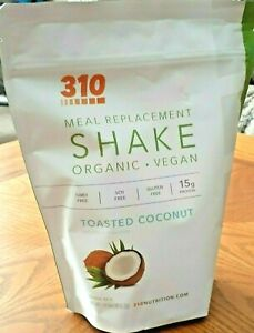310 SHAKE NUTRITION - TOASTED COCONUT (14 SERVINGS) (NEW/SEALED) EXP 04/2023