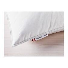 IKEA JORDROK KING Pillow SOFT 90% Duck Feathers 10% Down 20 x 36' NEW FREE SHIP