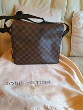 Mens Ladies  Louis Vuitton Naviglio  Messenger Bag 100% Genuine