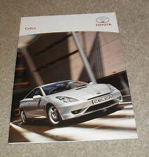 Toyota Celica FOLLETO 2004-2005 1.8 VVTi Premium Estilo - 1.8 VVTL T Sport