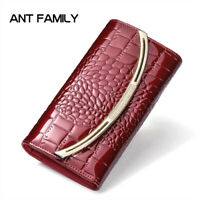 Lady Women Fashion Hasp Wallet Long Purse Clutch  Card Holder  3 Fold  Wallets