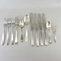 Lot of 12 Flatware Silverware Stainless Spoons Forks Knives Oneida Rogers Avon