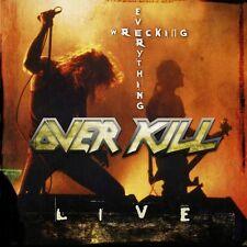 OVERKILL - WRECKING EVERYTHING 2 VINYL LP NEU
