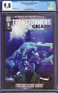Transformers Galaxies #1 (IDW Publishing, 2019) CGC 9.8