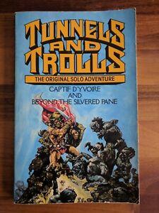 TUNNELS & TROLLS GAMEBOOK CAPTIF D'YVOIRE / BEYOND THE SILVERED PLANE JOSH KIRBY