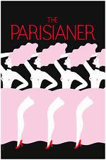 """Paris The Parisianer  Art Print Poster 24"""" x 36"""""""