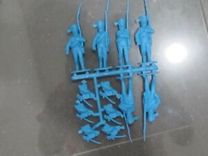 1/32 54mm Napoleonic Prussian Line Infantry Marching Toy Soldiers x 18
