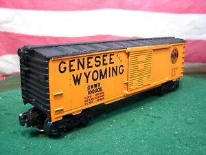 Rare Custom Decorated K-Line Genesee & Wyoming 40' Steel Box Car Made in NC USA