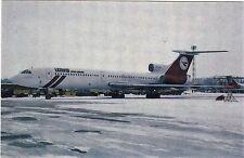 LATAVIO  AIRLINES      -     Tupolev  TU-154B  at Riga in 1993