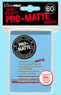 Ultra Pro 60 LIGHT BLUE PRO-MATTE Small Deck Protector NEW Non Glare Card Sleeve