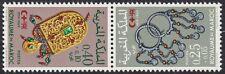 1969 MAROC N°587A** Paire Tête-Bêche, Croix Rouge, 1969 MOROCCO
