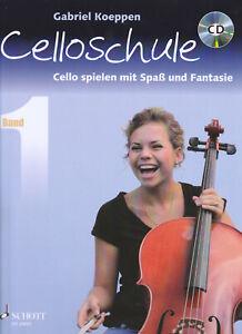 CELLOSCHULE Bd.1 Cello spielen mit Spaß und Fantasie ( inkl. CD ) v. G. Koeppen