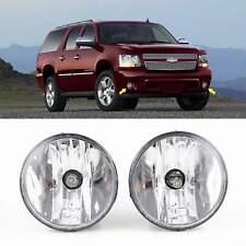Fog Lights Left Right Fog Lamp fits:2007-2014 Chevy Tahoe Avalanche Suburban GMC