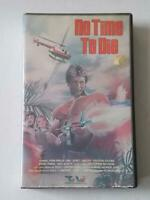 No Time To Die VHS TWE John Phillip Law Action Big Clamshell Box