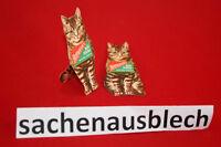 Werbeaufsteller Hoffmanns Stärke alt 30er braune Katze