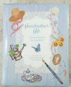 GRANDMOTHER'S GIFT A MEMORY BOOK FOR MY GRANDCHILD Hardcover VTG 1996 C R Gibson