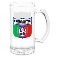 AFL Stein Glass - Fremantle Dockers - Drink Cup Mug - 500ml Retail Boxed