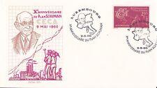 ENVELOPPE - LUXEMBOURG - X EME ANNIVERSAIRE PLAN SCHUMAN - 1960 .