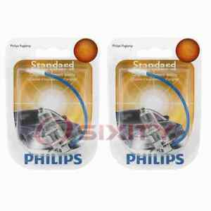 2 pc Philips Front Fog Light Bulbs for Nissan 200SX 240SX 300ZX Altima rx
