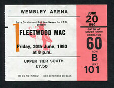 Original Fleetwood Mac Concert Ticket Stub Wembley London UK Tusk Tour Penguin
