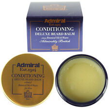 Deluxe Conditioning Beard Balm With Oils & Wax Admiral Male Grooming Kit 50ml