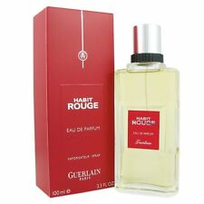 Habit Rouge By Guerlain Eau De Toilette 3.3 oz/100 ml Spray For Men